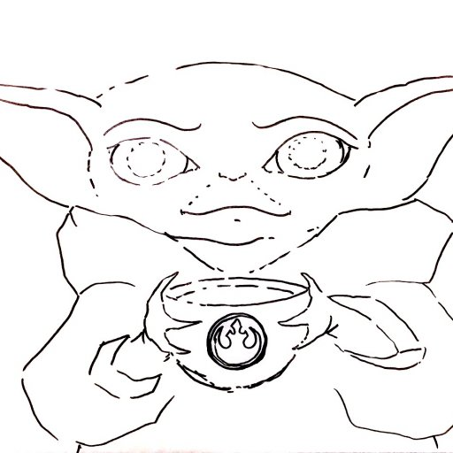 Patrons exclusive Traceable  baby Yoda