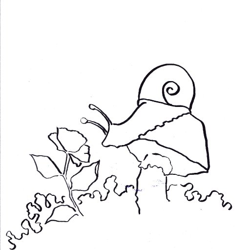 Patrons exclusive Traceable  watercolor snail The playdate
