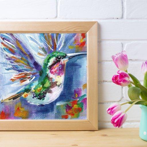 hummingbird Mock up