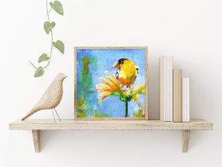Yellow Bird Framed .jpg