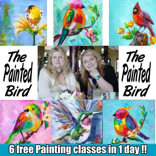promo painted bird
