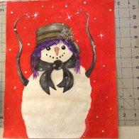Art Sherpa Snowwoman