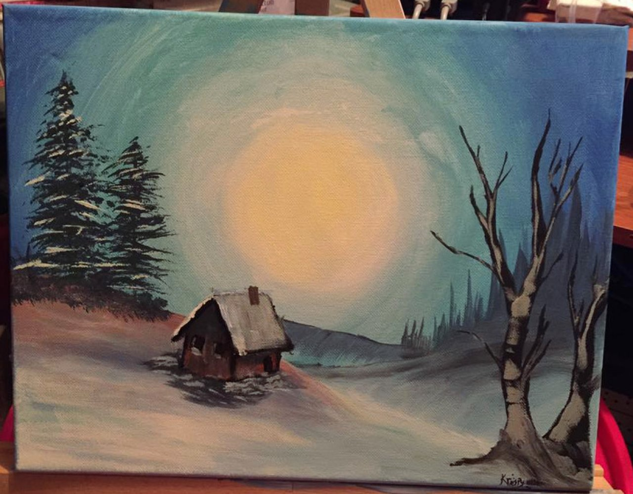 bob ross style painting - gallery - kriispy.richard | the art sherpa