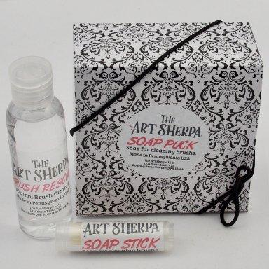 The Art Sherpa Brush Spa Kit