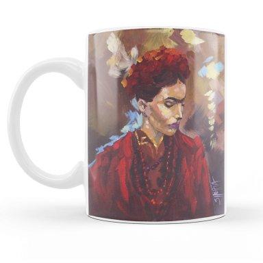 Frida Kahlo 11oz Mug  by The Art Sherpa