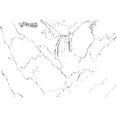 Yellowstone waterfall traceable