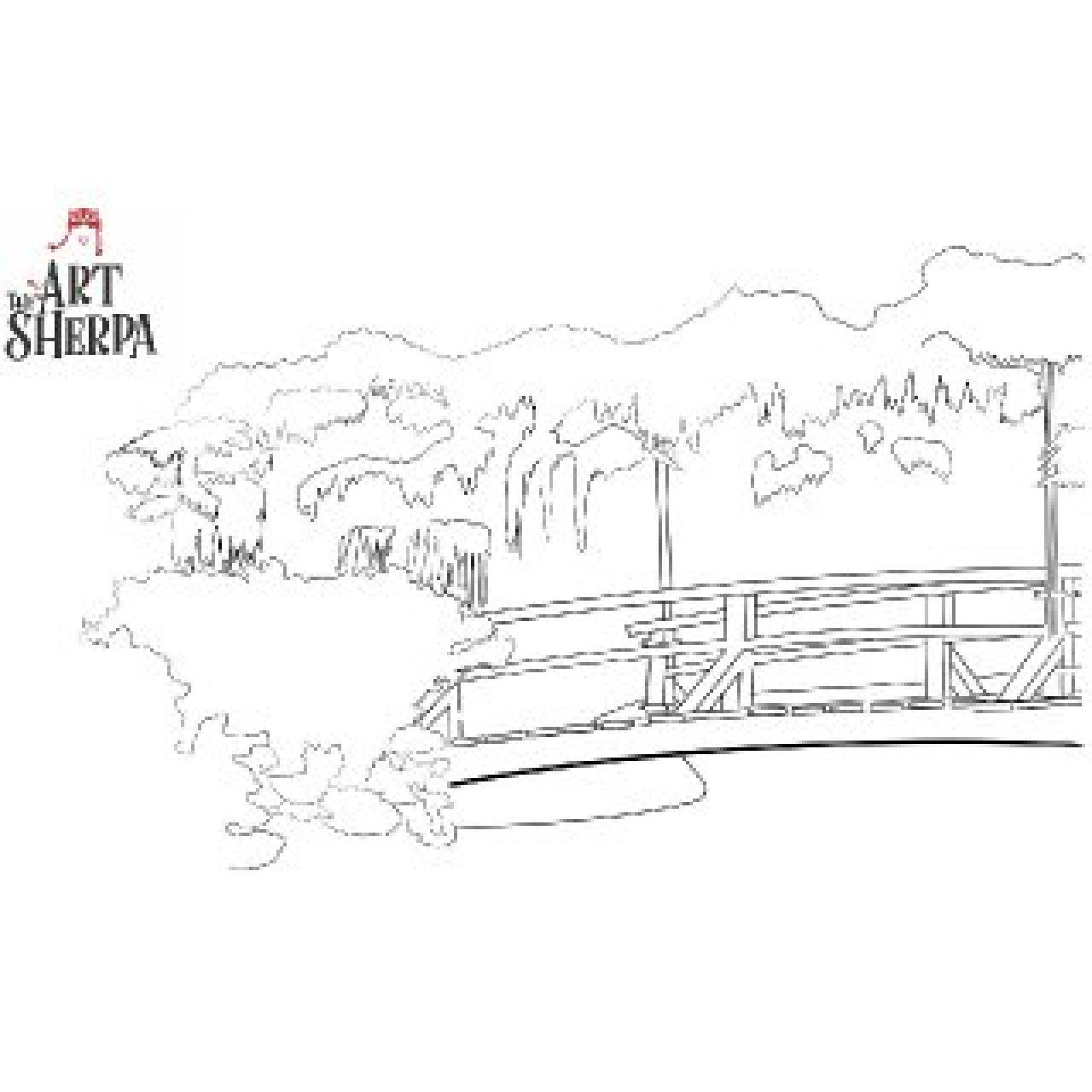 Sherpa Monet Garden Bridge