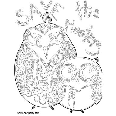 Breast Cancer Awareness Owls