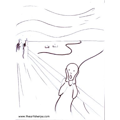 THE SCREAM By EVARD MUNCH