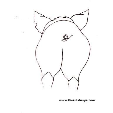 Piglet Butt
