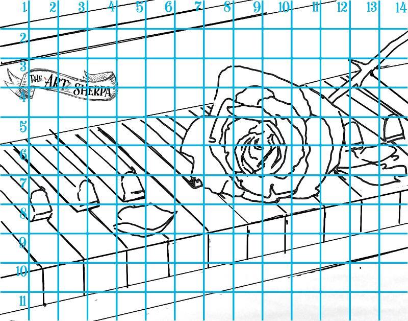 11x14 horizontal 1 rose line grid .jpg