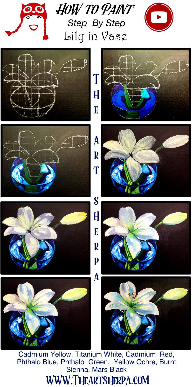 Lily and Vase  Step by Step 2020 .jpg