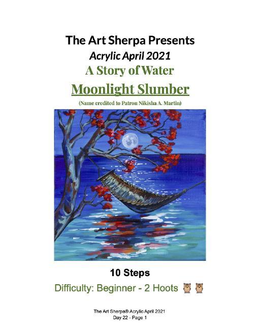 Acrylic April Day 22  Moonlight Slumber.jpg