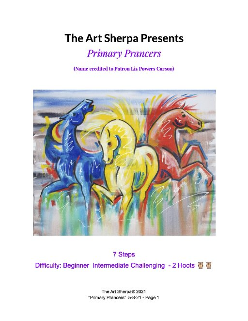 Primary Prancers Abstract Horses May 8 LC .jpg