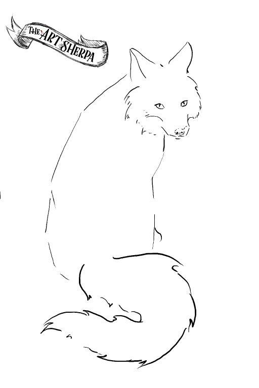 watercolor Fox traceable .jpg