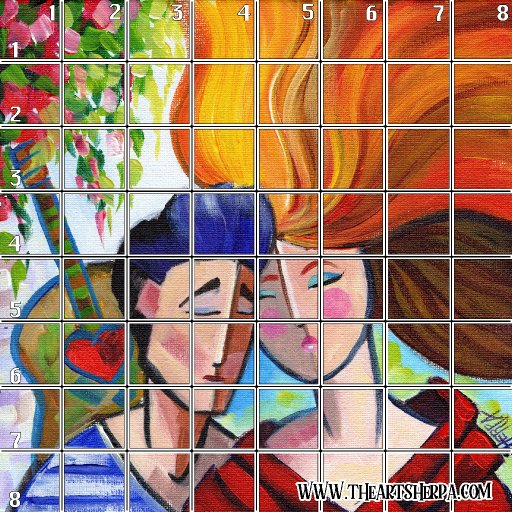 8 x 8 Refences and Grid abstract couple .jpg