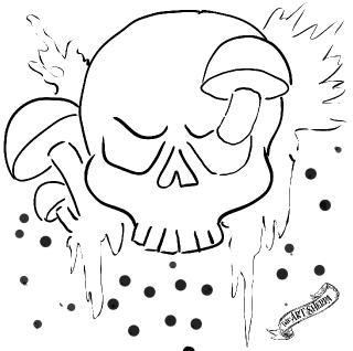 skull mushrooms 8x8 .jpg