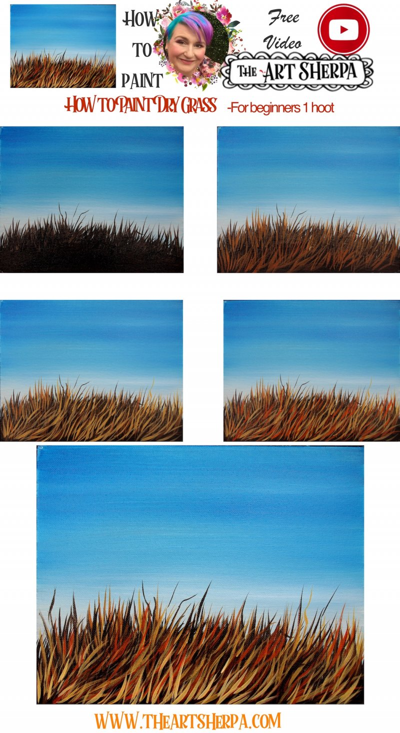 step by step How to paint Dry grass  copy.jpg