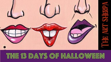 Sandersons Halloween Spooky live stream  painting Step by step Day 2 | TheArtSherpa