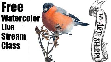 Autumn Bird on Twig