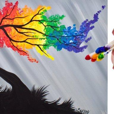Rainbow Auto Painting Body