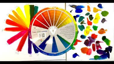 Color Wheel 2 #bigartquest How to tell if a color is warm or cool
