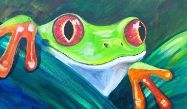 Beginner Acrylic Tutorial Tree Frog The Art Sherpa