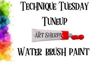 Beginner acrylic painting technique tune up Tuesday