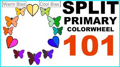Split Primary Color Wheel 101